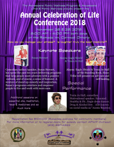Annual Celebration Of Life Conference 2018 @ Ramada Inn