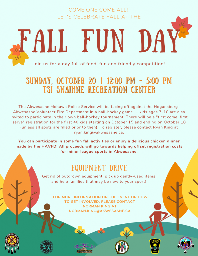 Fall Fun Day @ Tsi Snaihne Recreation Centre