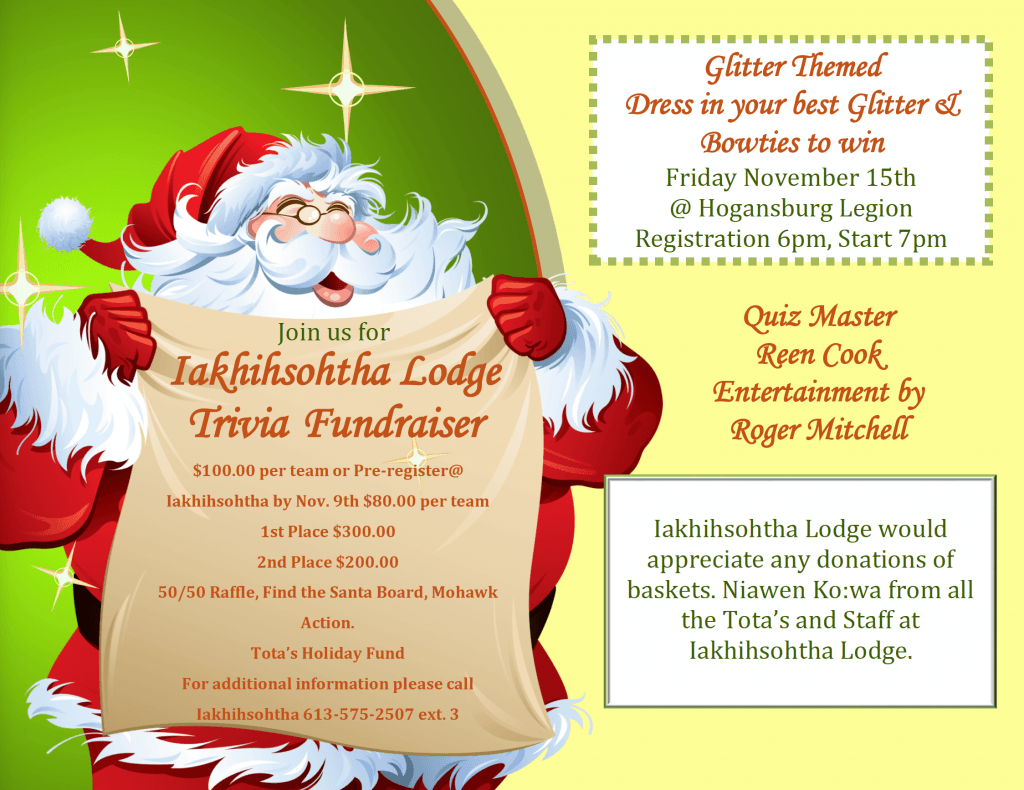 Iakhihsohtha Lodge Trivia Fundraiser @ American Legion Post 1479