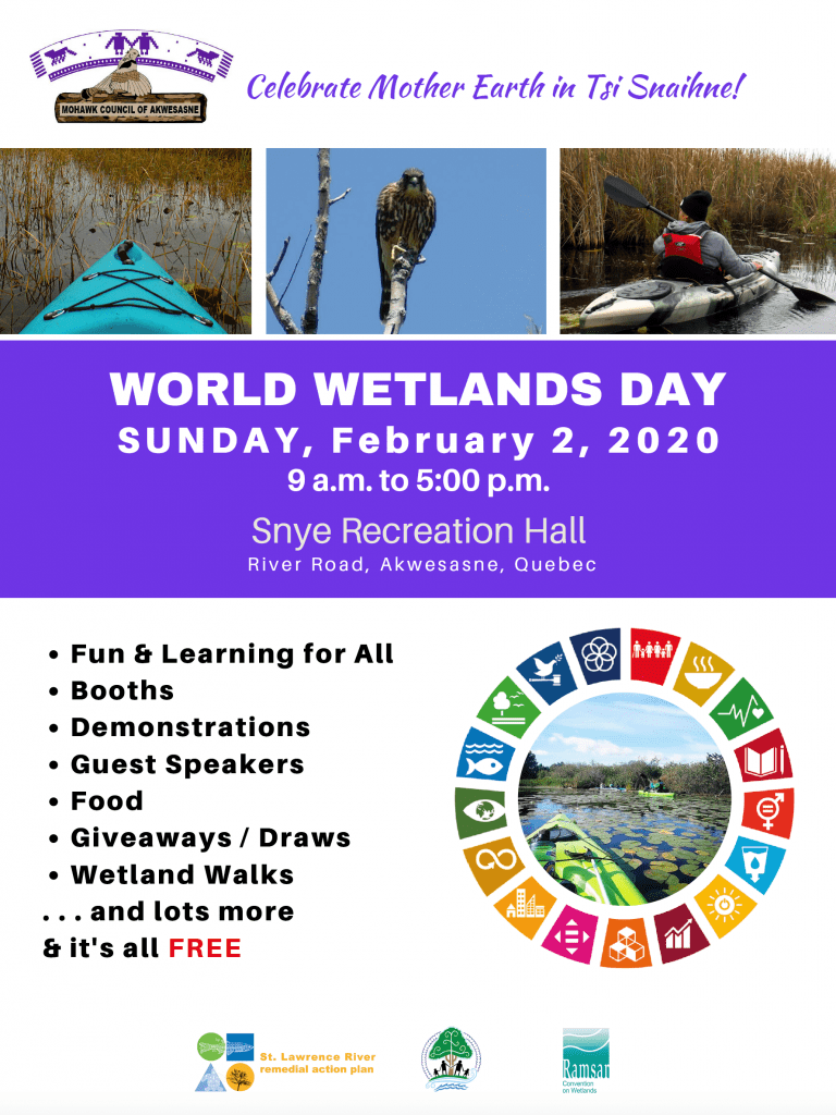 World Wetlands Day 2020 @ Tsi Snaihne Recreation Centre